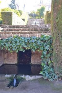 Water dat blijft stromen in de tuinen van het Alhambra