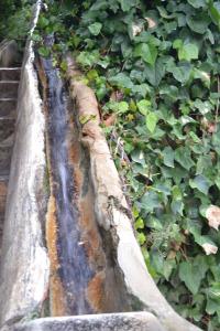 De water trap in het Generalife