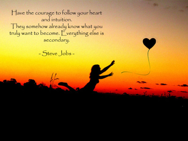 follow the heart